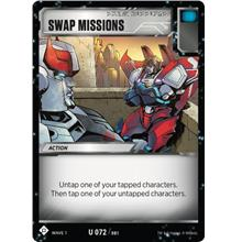 Transformers TCG Swap Missions - Battle Card Uncommon Playset