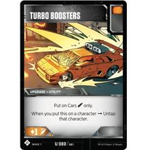 Transformers TCG Turbo Boosters - Battle Card Uncommon Playset