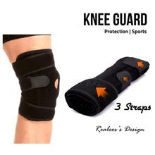 Knee Guard Protection Support Spring Relieve Pain Sport