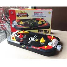 2 in 1 Air Hockey Table Game