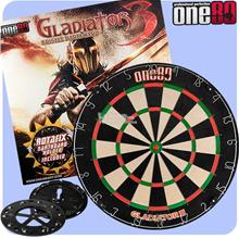 ONE 80 GLADIATOR 3 STEELTIP DART BOARD