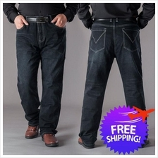 [Bundle Deal] Plus Size Men Elastic Trousers Denim Jeans Size 30 to 48