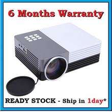 [ 6 Months Warranty ] G6 GM50 HDMI VGA LED Projector Support Powerbank