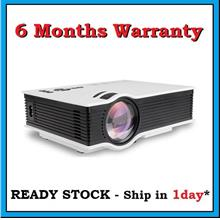 [ 6 Months Warranty ] UC40 HD Ready SVGA HDMI LED Projector