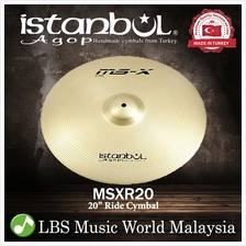 "istanbul Agop Cymbal 20 Inch MS-X Ride 20"" Cymbal"