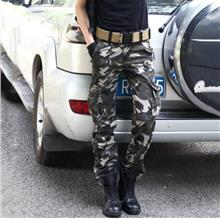 Camouflage Cargo Multi-Pockets Outdoor Pants