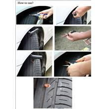 New Car/Motorbike Tubeless Tyre Tire Puncture Instant D.I.Y Repair Kit