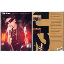 U2 'Live, A Concert Documentary' Book