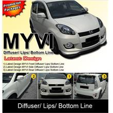 MYVI Latest Design Diffuser/ Lips/ Bottom Line Packages