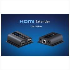HDMI Extender Up to 50 Meter w/ Infared  ~Upgrade Version LKV372Pro