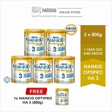 NANKID OPTIPRO HA 3 Tin 800g , Buy 5 FREE 1)