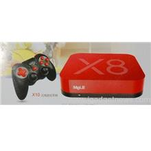 Mele X8 Android tv box / quad core / 16GB /with wireless gamepad