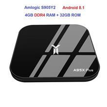 2018 A95X PLUS AMLOGIC S905Y2 4GB DDR4 RAM 32GB ROM ANDROID 8.1 4K