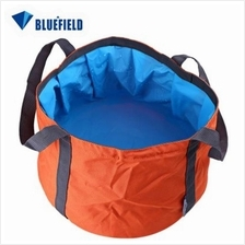 11L BLUEFIELD PORTABLE FOLDED WASHBASIN CAMPING WASHBOWL OUTDOOR SPORT ACCESSO