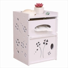 Wall Hanging Tissue Storage Box Rack Toilet Roll Container Toilet Box