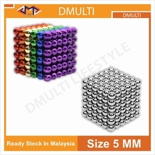 216pcs 3mm Electroplating Bucky Balls Magic Magnetic Stress Relief Bal