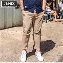 JSMIX Men's Plus Size (40?~48?) Summer Ankle Khaki Long Pants 82JK0300