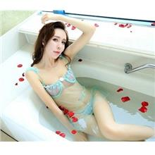 Women Sexy underwear embroidery lace transparent mesh pajamas