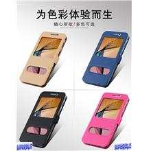 Leather casing case cover for Samsung Galaxy J7 Prime