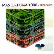 MasterFoam 5 Inches Thick Rebond Foam 1000 Single Mattress (5 Years Wa