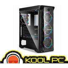 * SEGOTEP LUX II WITH 3 x 12CM LIGHTNING 12 RGB FAN | Black or White