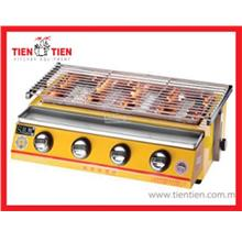 ZOT/IG12 TIEN TIEN Gas Table Top BBQ Griller with 4 Burner