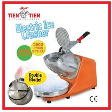 OT/IC02 TIEN TIEN ELECTRIC ICE CRUSHER / ICE SHAVER DOUBLE BLADE