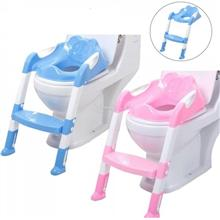 CHILDREN TOILET TRAINING POTTY SEAT WITH STEP LADDER F6815