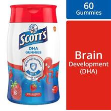 SCOTT'S DHA GUMMIES WITH VIT.D Strawberry 60s