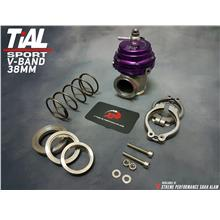 WASTEGATE TIAL 38MM V-BAND VS2 WITH SPRING PURPLE COLOR