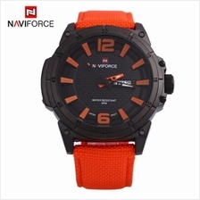 NAVIFORCE 9066 MALE QUARTZ WATCH NYLON BAND DATE DAY 30M WATER RESISTANCE (ORA
