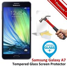 Premium Quality Samsung Galaxy A7 Tempered Glass Screen Protector