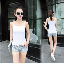 Woman Singlet Female Girl Ladies Lady T-Shirt clothing tank white