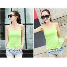 Woman Singlet Female Girl Ladies Lady T-Shirt clothing tank green