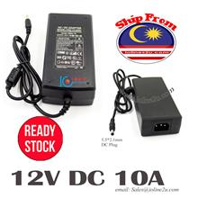 AC to 12V DC 10A 120w Switching Power supply adapter FCC CE CCTV Access Contro