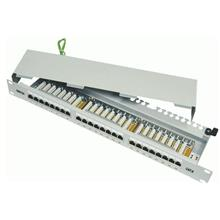 DINTEK Cat 6 19' Fully Shielded 24 Ports 1U Patch Panel (1402-04033)