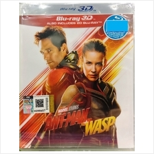 English Movie Marvel Studios Antman And The Wasp Blu-ray 3D + 2D