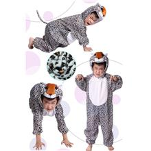 Promotion - Leopard Cosplay Kids Animal Outfit Costume Size XL