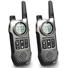 MOTOROLA ONE PAIR 10KM RANGE WALKIE TALKIE (TLKR T8)