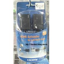 HIGH QUALITY CAT5E/CAT6 HDMI EXTENDER UP TO 30M (CO057)