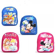 KID 031 DOUBLE STRAP BACKPACK WITH SHINING CARTOON THEME