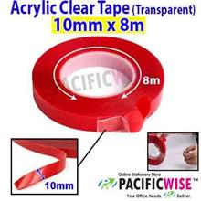 Double Sided Acrylic Clear Tape (Transparent) (10mm x 8m)