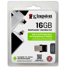 KINGSTON MicroDuo USB 3.0 16GB Flash Drive OTG (DTDUO3/16GB)