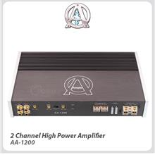 Ample Audio 2-Channel High Power Amplifier - AA-1200