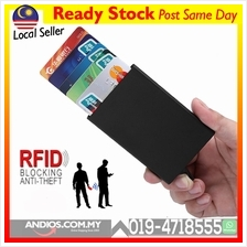 RFID Metal Card Holder Wallet Money Kad Casing Besi Kualiti