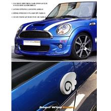 00771 Korean Version Of The Creative Angel Wings Car Crash Post 4 into