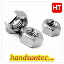 M10 Metric Hex Nut Stainless A2 Steel Grade/ 2-pcs