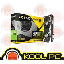 * ZOTAC GTX 1060 AMP Edition SE 6GB ( With Metal Back Plate )