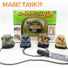 INDUCTIVE TANK. Inductive Truck. Magic Tank.Toys Truck RC Car. NEW.!!!