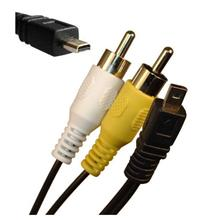 AV Cable for Digital Camera (Compatible to Many 8pin Models)